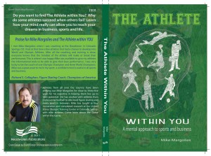 The Athlete Within You- Book Proof in Hand