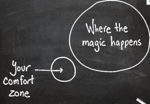Out of our COMFORT ZONES