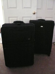 My bags are packed and I'm ready to go!