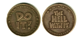 Two Faced Coin for mental game