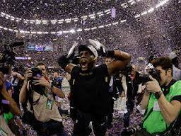 Ray Lewis doing his final dance